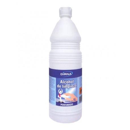 Alcohol de limpieza perfumado Botella 1 l.