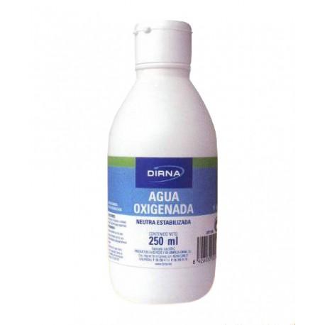 Agua Oxigenada Botella 250 ml