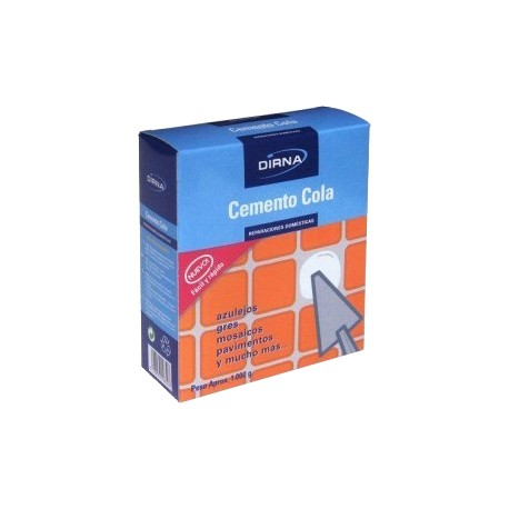 Cemento cola Caja 1 kg
