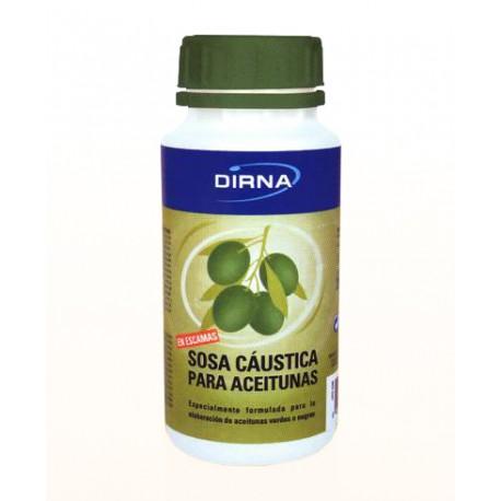 Sosa Cáustica para Aceitunas Tarro 250 gr (USO DOMÉSTICO)